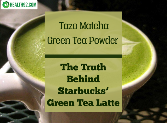Tazo Matcha Green Tea Powder - Adjusted