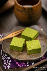 Matcha Green Tea Chocolates