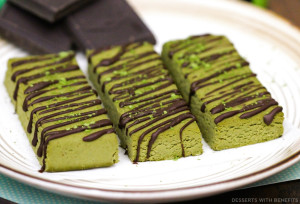 Matcha Green Tea Fudge DIY Protein Bars